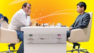 GM Wesley So vs GM Rauf Mamedov