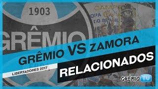 Confira os relacionados do Tricolor para enfrentar o Zamora da Venezuela, a partida encerra a fase de grupos da Conmebol Libertadores Bridgestone 2017. → Ins...