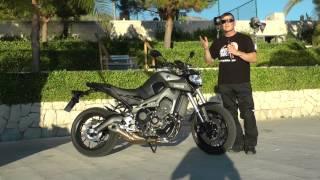 Yamaha MT-09 : Le trois-cylindres Yamaha n'a pas fini de se faire entendre ! - YouTube