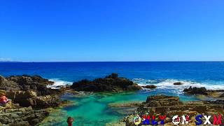 Exclusive Footage Of St. Maarten's Hidden Treasure, Natural Pool For A Local tour Guide Contact: onlyonsxm@gmail.com Follow...