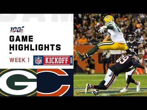 Packers vs. Bears Week 1 Highlights | NFL 2019