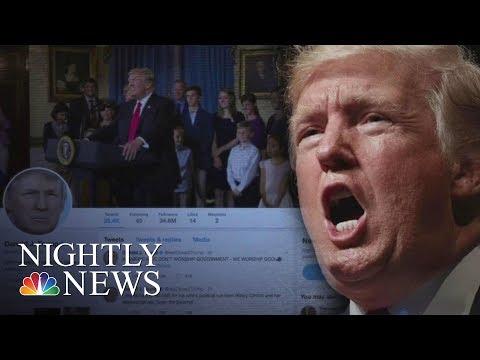 President Donald Trump Bans Transgender People In U.S. Military | NBC Nightly News