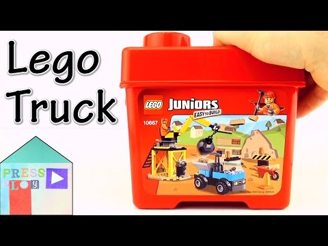 Lego Juniors Easy to Build Construction set (10667) Construction Truck Part 1