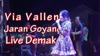 Via Vallen Jaran Goyang SERA live Demak