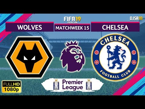 Wolves vs Chelsea 2-1 | Premier League 2018/19 | Matchweek 15 | 05/12/2018 | FIFA 19