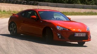 Powersliding In The Toyota GT86 - Fifth Gear by Fifth Gear