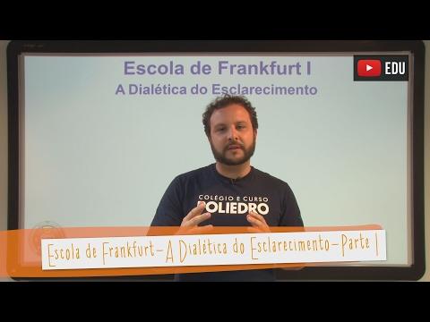 ESCOLA DE FRANKFURT: ESCOLA DE FRANKFURT