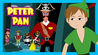 PETER PAN - BEDTIME STORY FOR KIDS | Full Story - Fairy Tales | Tia And Tofu Storytelling Video