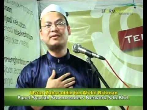 Part 2 Ustaz Zaharuddin – Penerangan Syariah Daripada Panel Penasihat tentang Stormreaders