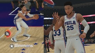 NBA 2K19 My Career EP 11 - Simmons 42 Pts Dunk Fest!