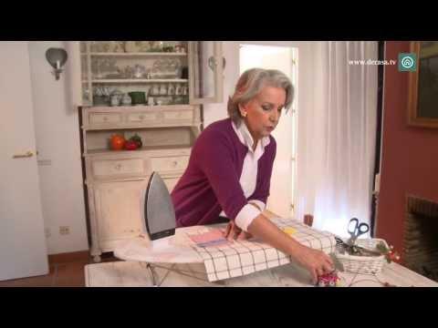 cómo hacer mantel - En el capítulo 1 de Ideas decorativas con Lilla Moreno, nuestra experta en manualidades, Lilla Moreno, nos enseña cómo crear originales manteles individuales...