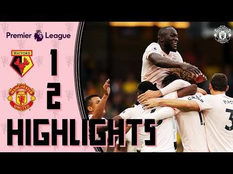 HIGHLIGHTS | Watford 1-2 Manchester United | Lukaku & Smalling | Premier League 2018/19