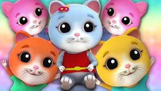 Download Video lima anak kucing kecil | kucing lagu untuk anak-anak | Five Little Kittens MP3 3GP MP4