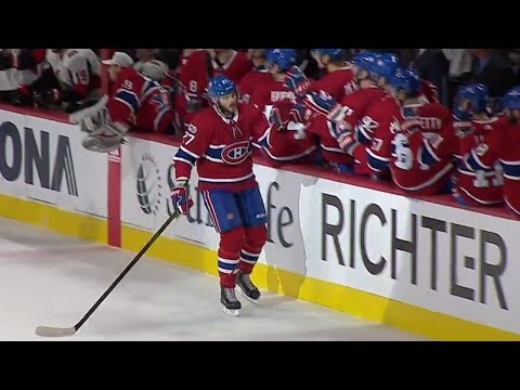 Video: Galchenyuk and Shaw score 26 seconds apart in dying moments of first period