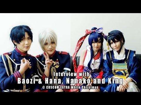 Interview with Baozi&Hana, Nanako and King