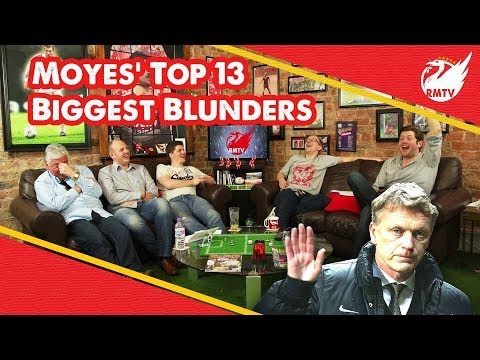 manager - To commemorate the sacking of football genius David Moyes as Man United manager, The Redmen TV look back at his 13 biggest mistakes as Old Trafford boss! The Redmen TV is Uncensored LFC Television...