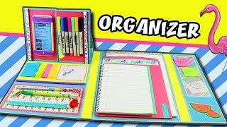 Download Lagu DIY FOLDER ORGANIZER - BACK TO SCHOOL   aPasos Crafts DIY Mp3