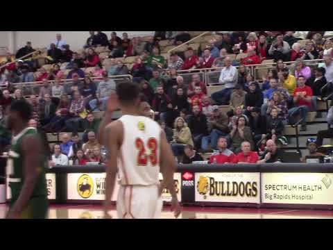 Men's Basketball Highlights vs NMU 1-13-18
