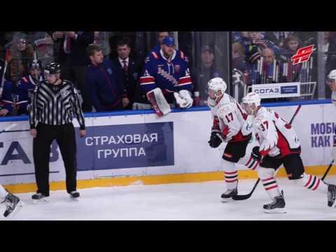 Связка Пережогин-Соботка расправляется с обороной СКА! (видео)