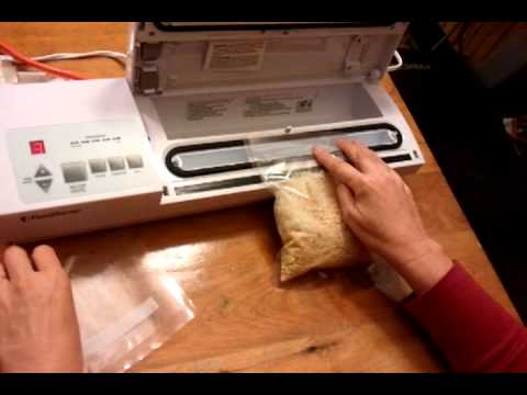 Using inexpensive smooth (non-ribbed) food storage bags with a vacuum sealer.