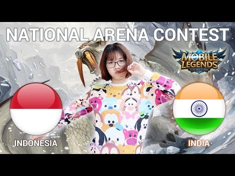 INDO VS INDIA - GIVE AWAY TINGGAL LI KE & SUBS - National Arena Contest Cast by Kimi Hime