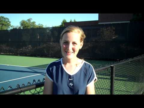 May Johnson - Women's Tennis Fall Championships Day 2