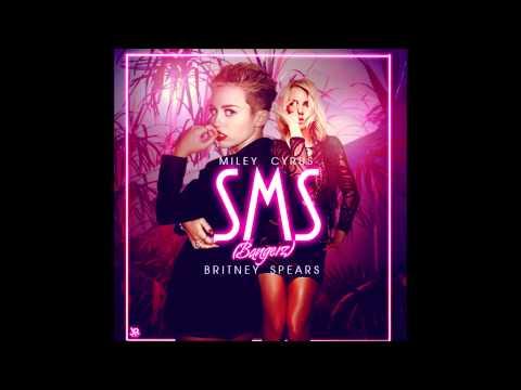 Tekst piosenki Miley Cyrus - SMS (Bangerz) [feat: Britney Spears] po polsku