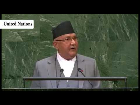 (PM KP Sharma Oli Addresses the UNGA - Duration: 27 minutes.)
