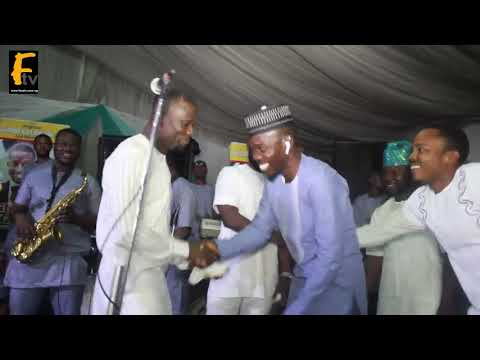Sule Alao Malaika Akin Olaiya Ijebu And Bimbola Badmus Q Dot Attend Jalabia Wedding Ceremony