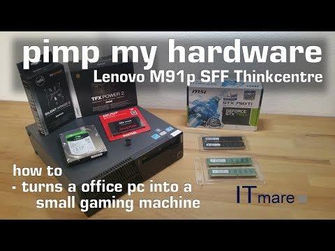 Lenovo Thinkcentre M91p SFF Umbau zum smarten Gaming PC