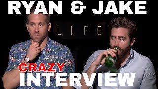 Ryan Reynolds & Jake Gyllenhaal HILARIOUS interview for LIFE f...