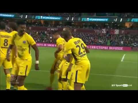 FC Metz V PSG 1-5 08/09/17
