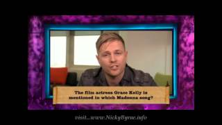 Nicky Byrne Clip 1001 Things You Should Know ep 8