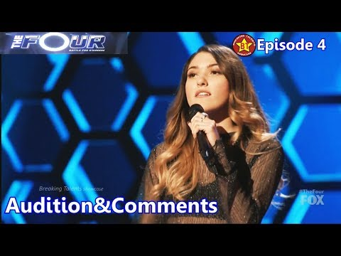 Kendyle Paige sings  Me Myself and I  &Comments The Four S01E04 Ep 4