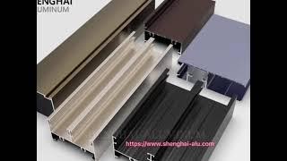 798 Aluminum Profiles Series For Door and Window youtube video