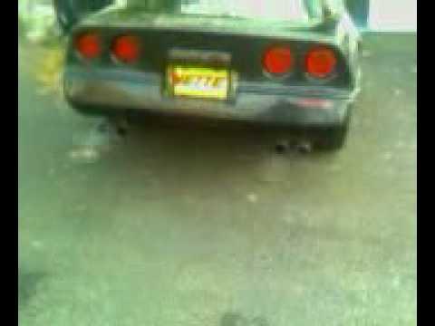 1989 Corvette Z51 TPI w/ LT4 Hot cam idle 12.96 @109MPH