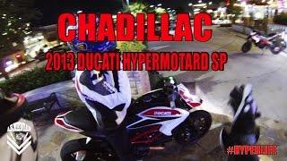 5. Chadillac on his 2013 Ducati Hypermotard SP