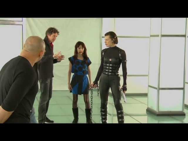 映画『バイオハザードV:リトリビューション』メイキング映像