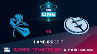 NewBee vs Evil Geniuses, ESL One Hamburg, game 1 [v1lat, GodHunt]