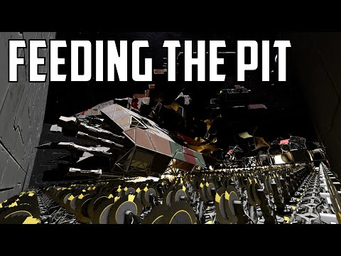 Space Engineers - S1E45 'Feeding The Grinder Pit!'