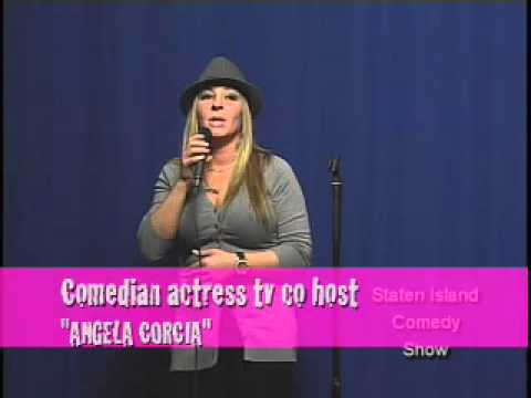 ANGELA CORCIA STAND UP ON STATEN ISLAND COMEDY SHOW 2012