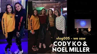 vlog005 - WE SAW CODY KO AND NOEL MILLER (tiny meat tour)