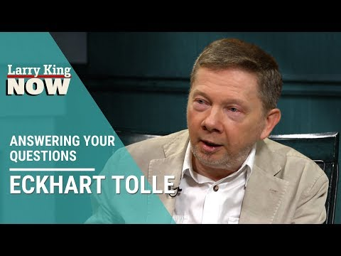 Eckhart Tolle Interview: Dealing With Anxiety, Stress and Depression