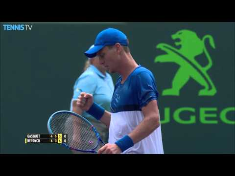 Miami Open Highlights:  Day 9