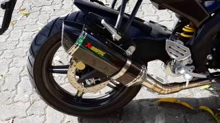 Video Engine sound Yamaha YZF-R15 Akrapovic Full System MP3, 3GP, MP4, WEBM, AVI, FLV Mei 2018