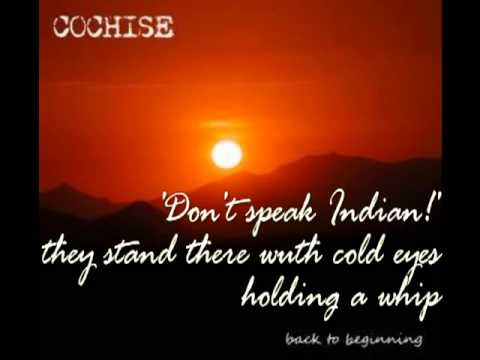 Tekst piosenki Cochise - Kill the Indian, Save the Man po polsku