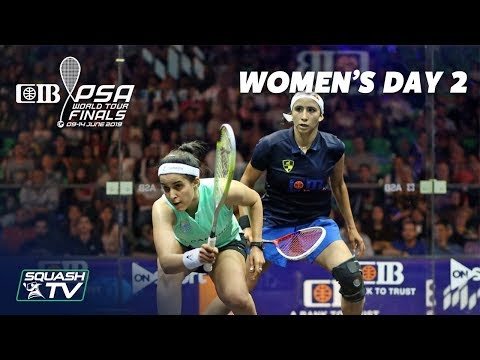 Squash: Women's Day 2 Roundup - CIB PSA World Tour Finals 2018/19