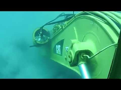 Подводный экскаватор!