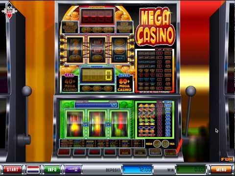 Mega Casino gokkast, stapels munten winnen!