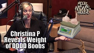 Christina P. Reveals Weight Of Her DDDD Boobs - YMH Highlight